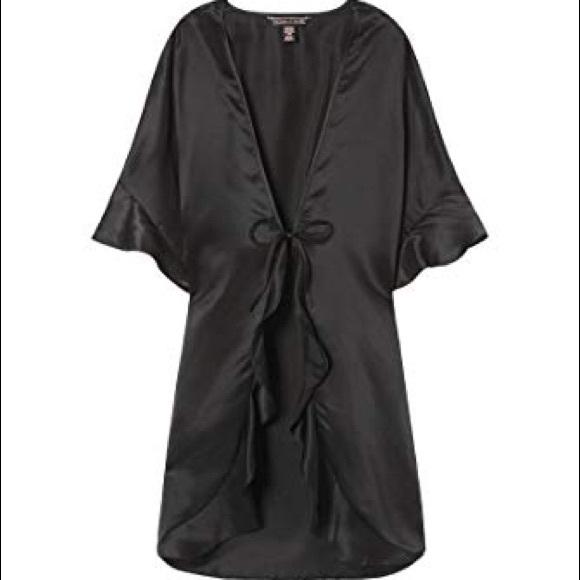 Victoria's Secret Other - NWT Black Victoria Secret Very Sexy Kimono Robe